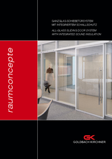 All-glass sound-insulating sliding door