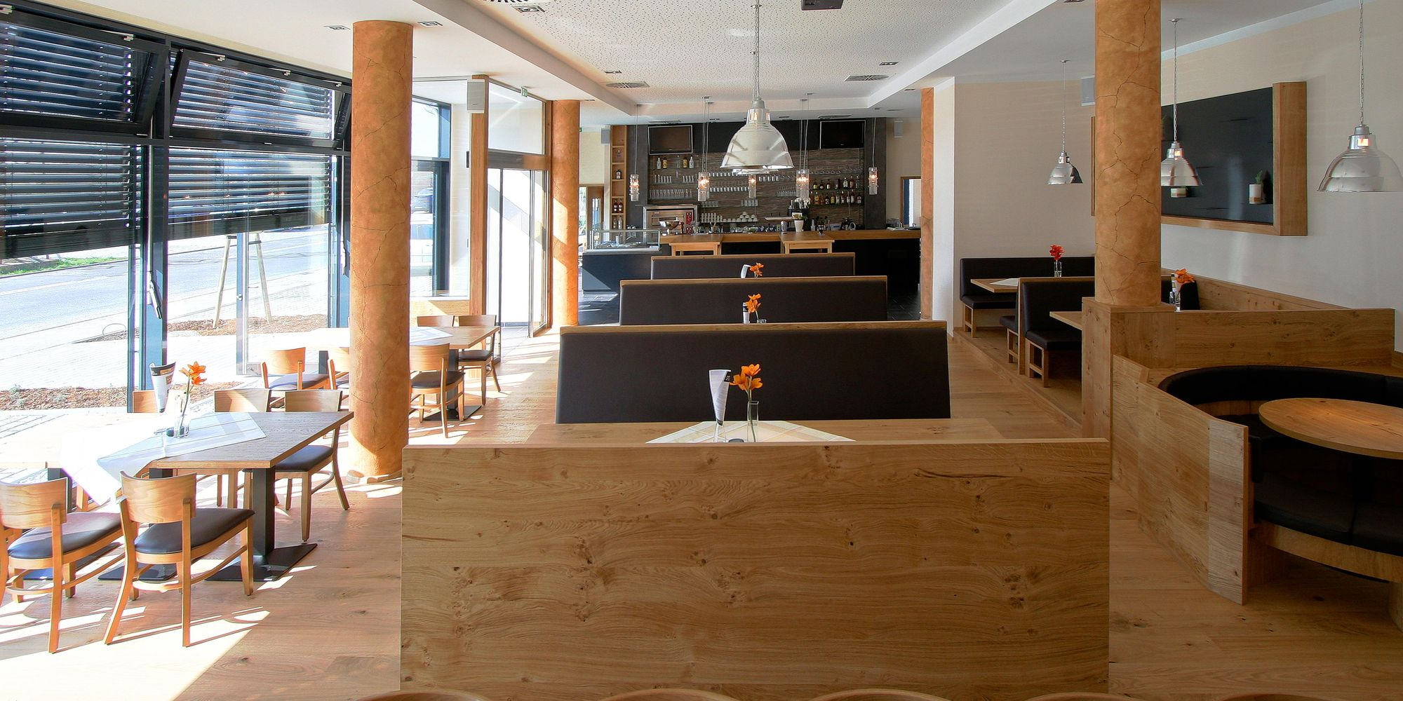 Individual interior fit-out for hospitality