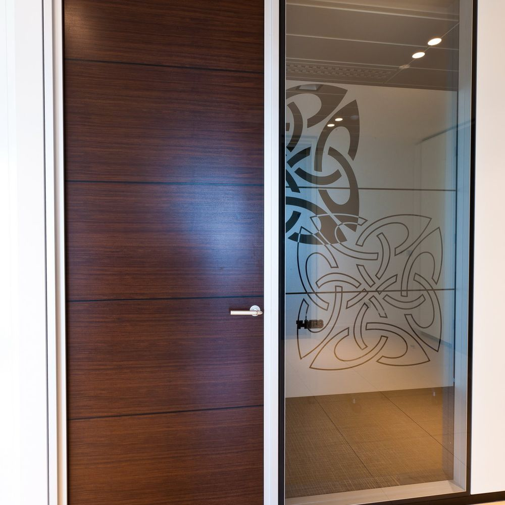 Full-height door panel